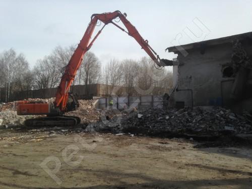 Демонтаж железобетонных конструкций и конструкций из кирпича, Демонтаж зданий и сооружений, фундаментов, труб и недействующих инженерных сетей