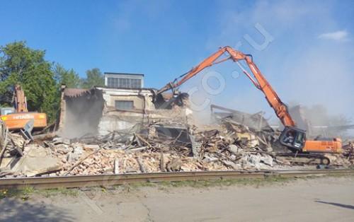 , Демонтаж объекта недвижимости «Ремонтно-механические мастерские 1213,7 кв.м.»