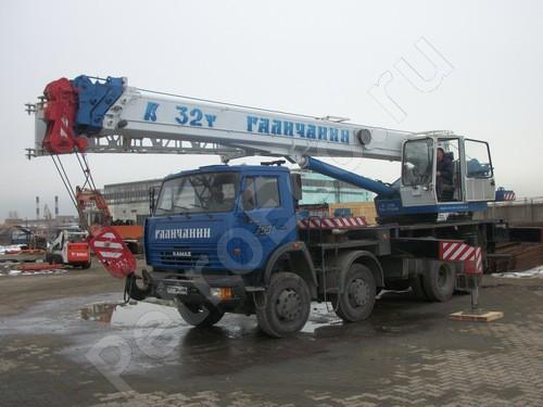 Кран автомобильный, КС-55729-1В «Галичанин»