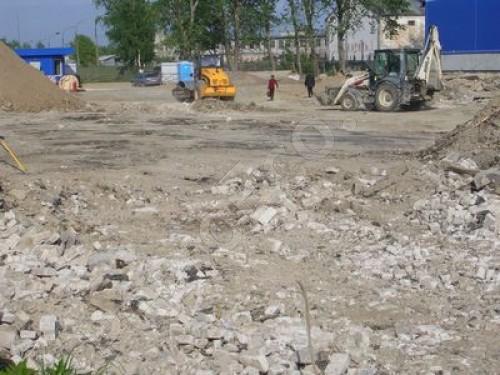 Выемка грунта, устройство коммуникаций, заливка площадок, ремонт складских помещений, Благоустройство складского комплекса