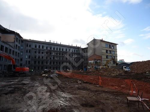 Комплекс работ по демонтажу зданий, строений, сооружений на объекте, являющемся территорией реализации проекта «Набережная Европы», Демонтаж строений, сооружений на территории реализации проекта «Набережная Европы»