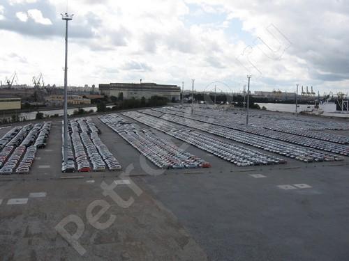 Генеральный подряд, Строительство площадки для хранения грузов для автомобилей компании Рольф