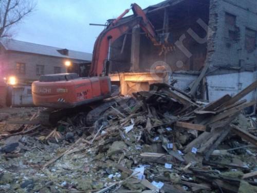, Демонтаж зданий и сооружений