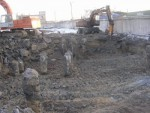 Устройство котлована (свайное поле) с вывозом грунта, Земляные работы (свайное поле)